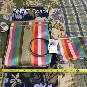 Coach crossbody and small wallet